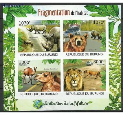 Znaczek Burundi 2012 Mi ark2615-2618B Czyste **