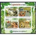 Burundi 2012 Mi ark2615-2618B Czyste **
