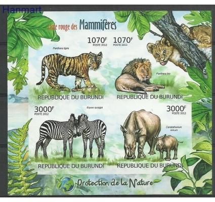 Znaczek Burundi 2012 Mi ark2625-2628B Czyste **