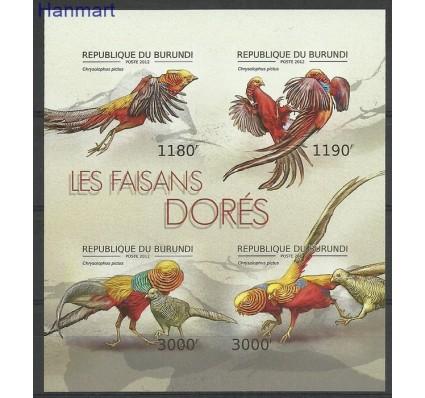 Znaczek Burundi 2012 Mi ark2793-2796B Czyste **