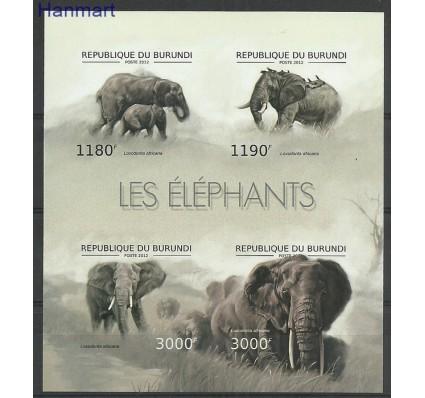 Burundi 2012 Mi ark2833-2837B Czyste **