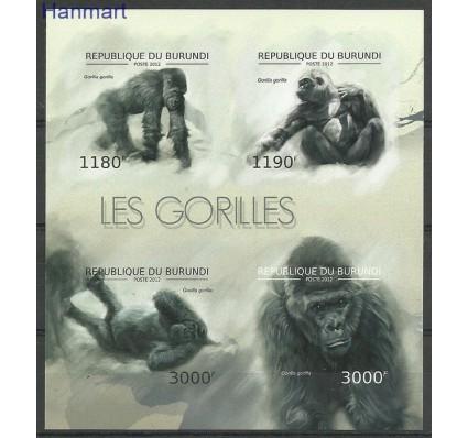Znaczek Burundi 2012 Mi ark2848-2851B Czyste **