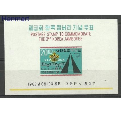 Znaczek Korea Południowa 1967 Mi bl259 Czyste **