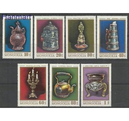Znaczek Mongolia 1974 Mi 894-900 Czyste **