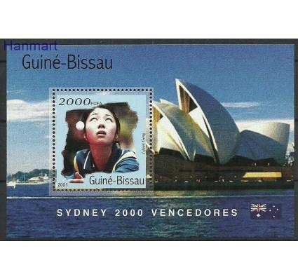 Znaczek Gwinea Bissau 2001 Mi bl311 Czyste **