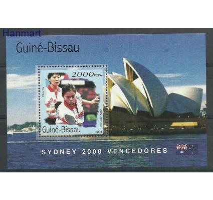 Znaczek Gwinea Bissau 2001 Mi bl312 Czyste **