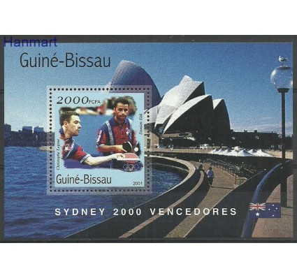 Znaczek Gwinea Bissau 2001 Mi bl314 Czyste **