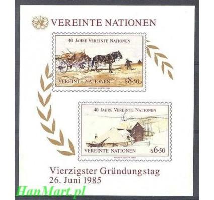 Narody Zjednoczone Wiedeń 1985 Mi bl 2 Czyste **