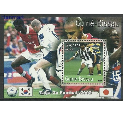 Znaczek Gwinea Bissau 2001 Mi bl318 Czyste **