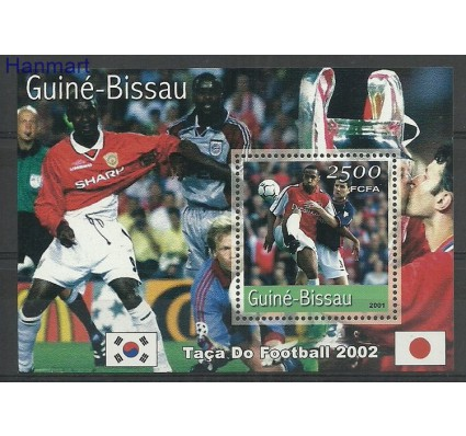 Znaczek Gwinea Bissau 2001 Mi bl319 Czyste **