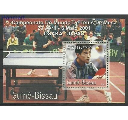 Znaczek Gwinea Bissau 2001 Mi bl321 Czyste **