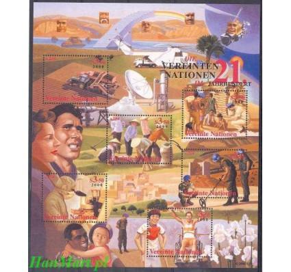 Narody Zjednoczone Wiedeń 2000 Mi bl 13 Czyste **