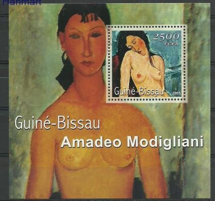 Znaczek Gwinea Bissau 2001 Mi bl346 Czyste **