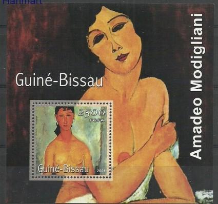 Gwinea Bissau 2001 Mi bl348 Czyste **
