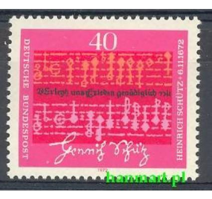 Niemcy 1972 Mi 741 Czyste **