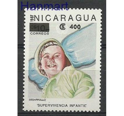 Znaczek Nikaragua 1990 Mi 3016 Czyste **