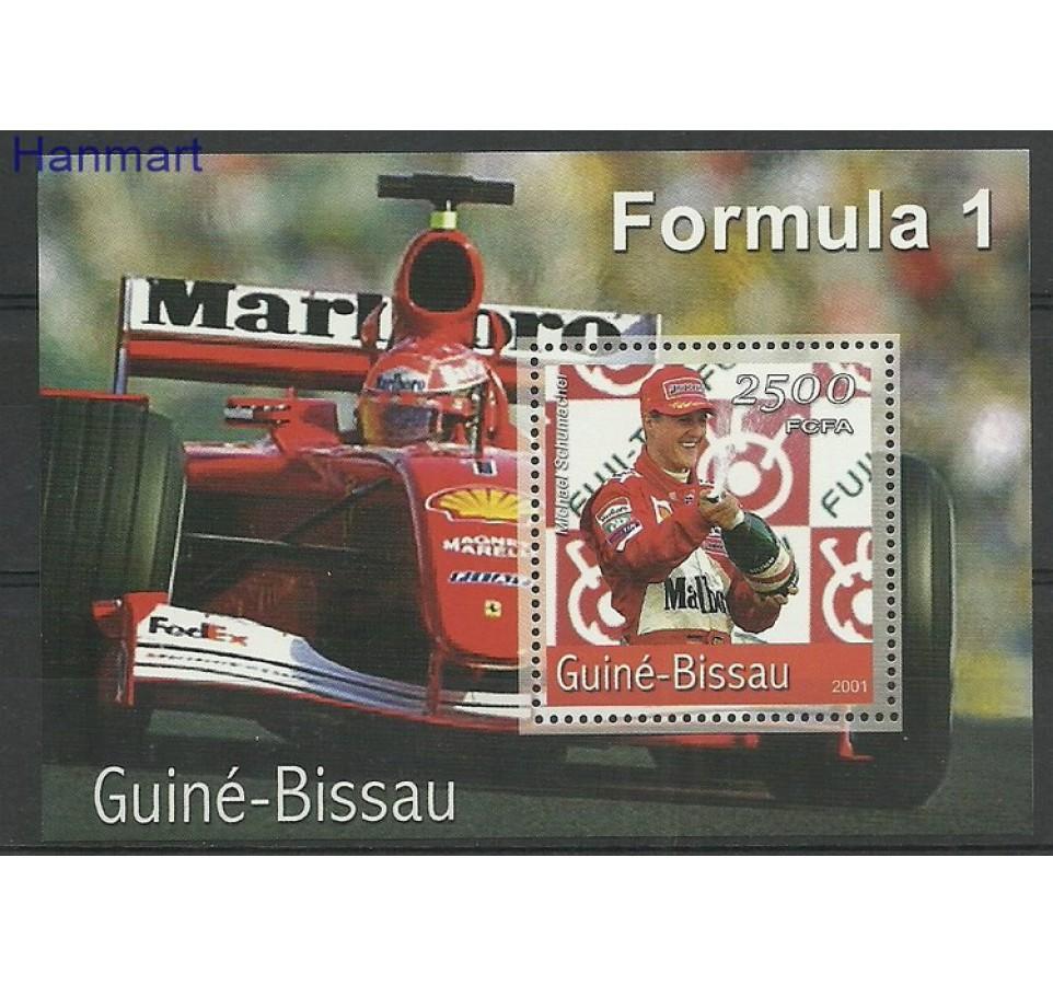 Gwinea Bissau 2001 Mi bl366 Czyste **