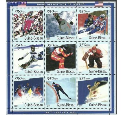 Znaczek Gwinea Bissau 2001 Mi ark1402-1410 Czyste **