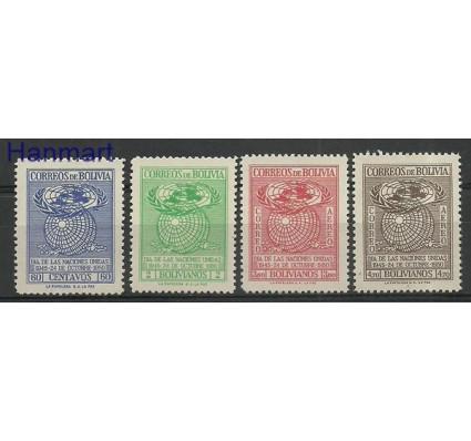 Boliwia 1950 Mi 447-450 Czyste **