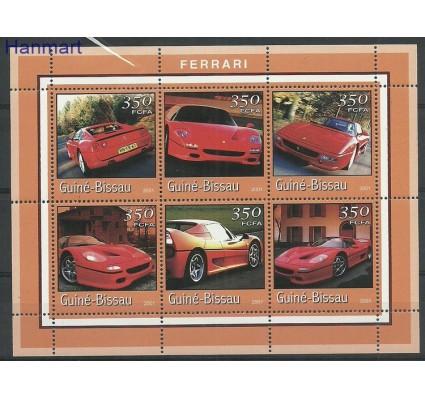Znaczek Gwinea Bissau 2001 Mi ark1755-1760 Czyste **