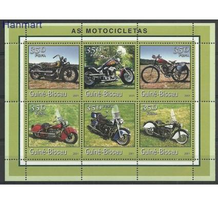 Znaczek Gwinea Bissau 2001 Mi ark1761-1766 Czyste **