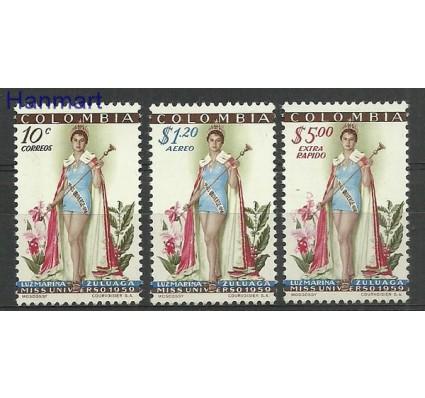 Znaczek Kolumbia 1959 Mi 849-851 Czyste **