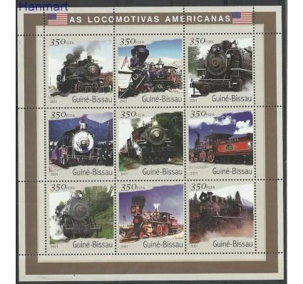 Znaczek Gwinea Bissau 2001 Mi ark1800-1808 Czyste **