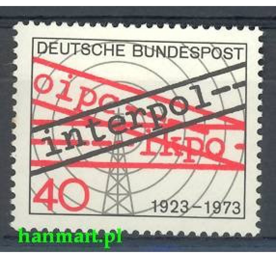 Niemcy 1973 Mi 759 Czyste **