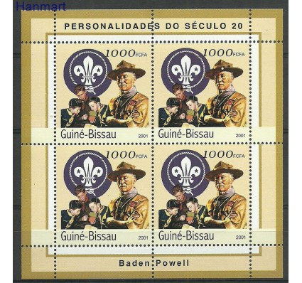 Gwinea Bissau 2001 Mi ark1956 Czyste **