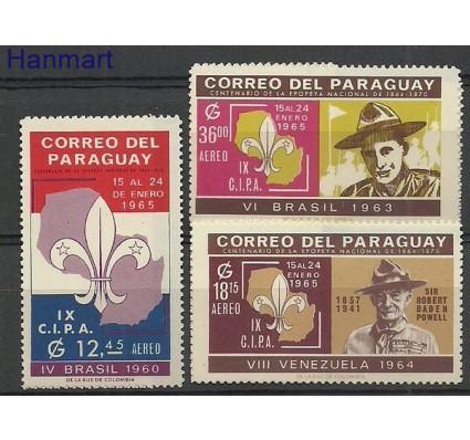 Znaczek Paragwaj 1965 Mi 1397-1399 Czyste **