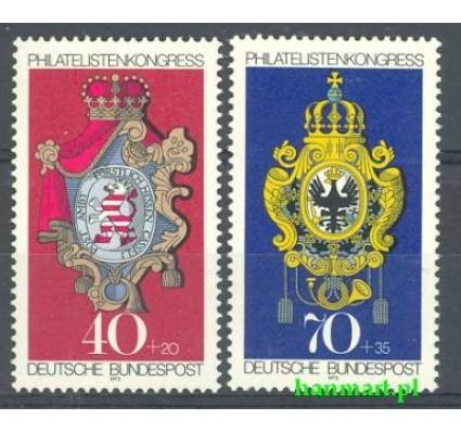 Niemcy 1973 Mi 764-765 Czyste **