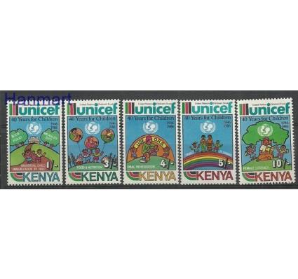 Znaczek Kenia 1987 Mi 383-387 Czyste **