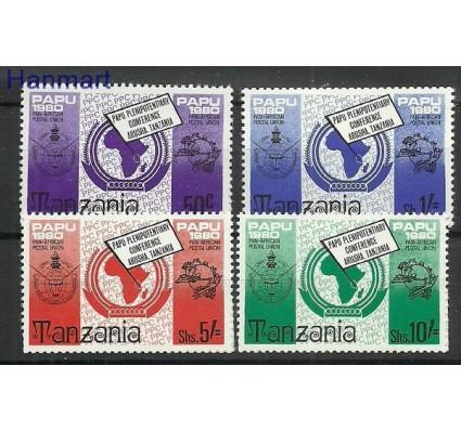 Znaczek Tanzania 1980 Mi 153-156 Czyste **