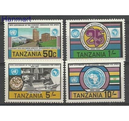 Znaczek Tanzania 1983 Mi 225-228 Czyste **