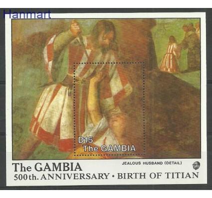 Gambia 1988 Mi bl 49 Czyste **