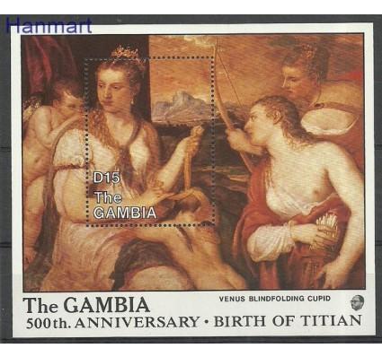 Znaczek Gambia 1988 Mi bl 50 Czyste **