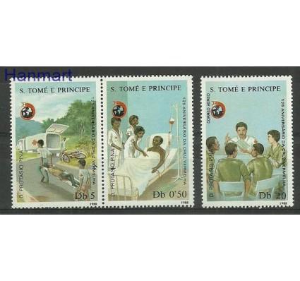 Znaczek Wyspy Św. Tomasza i Książęca 1988 Mi par1072-1074a Czyste **