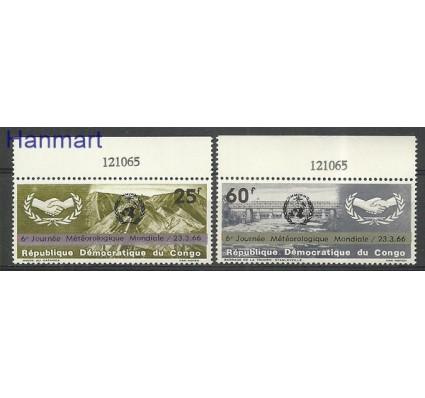 Znaczek Kongo Kinszasa / Zair 1999 Mi mar252-253 Czyste **