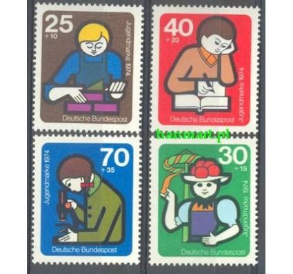 Niemcy 1974 Mi 800-803 Czyste **