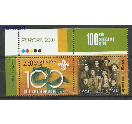 Znaczek Ukraina 2007 Mi 856-857 Czyste **