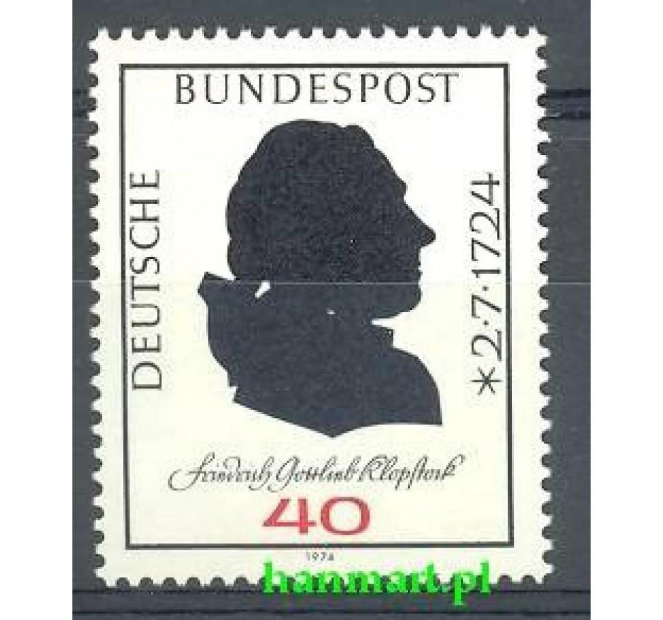 Niemcy 1974 Mi 809 Czyste **