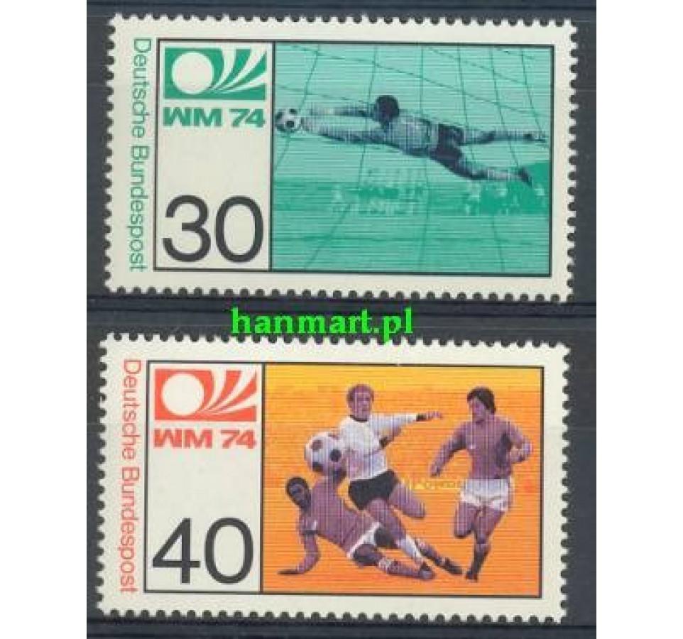 Niemcy 1974 Mi 811-812 Czyste **