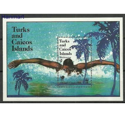 Znaczek Turks i Caicos 1988 Mi bl 72 Czyste **