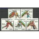 Madagaskar 1988 Mi 1117-1121 Czyste **