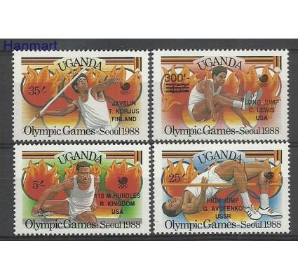 Znaczek Uganda 1988 Mi 638-641 Czyste **