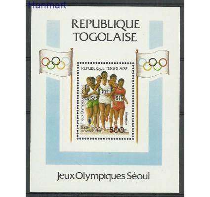 Znaczek Togo 1988 Mi bl308 Czyste **
