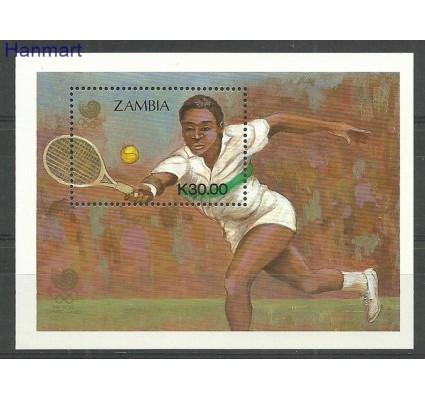 Znaczek Zambia 1988 Mi bl16 Czyste **