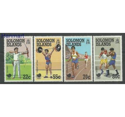 Znaczek Wyspy Salomona 1988 Mi 687-690 Czyste **