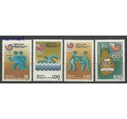 Sri Lanka 1988 Mi 834-837 Czyste **