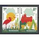 Rumunia 2012 Mi 6617-6618 Czyste **